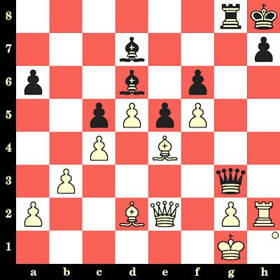 Les Blancs jouent et matent en 4 coups - Lajos Portisch vs Shimon Kagan, Petrópolis, 1973
