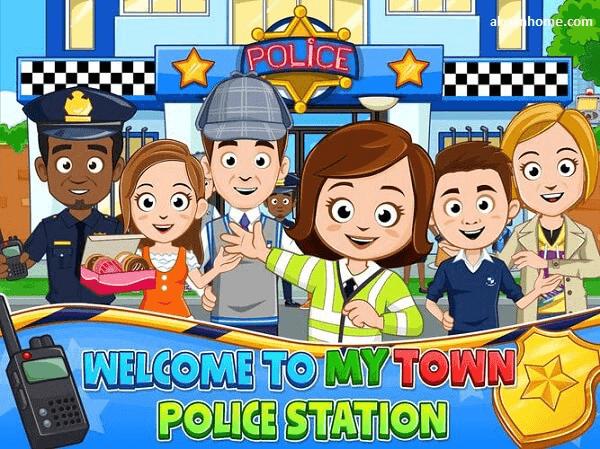 تحميل لعبه my town police