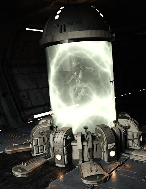 Sci-Fi Containment Unit