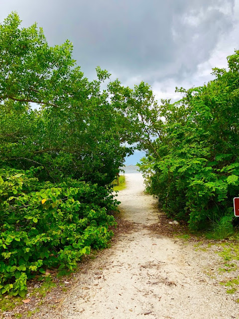 Park Entrance to Lovers Key State Park from Big Carlos Pass