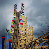 Photos of Ireland: The wooden roller coaster at Tayto Park