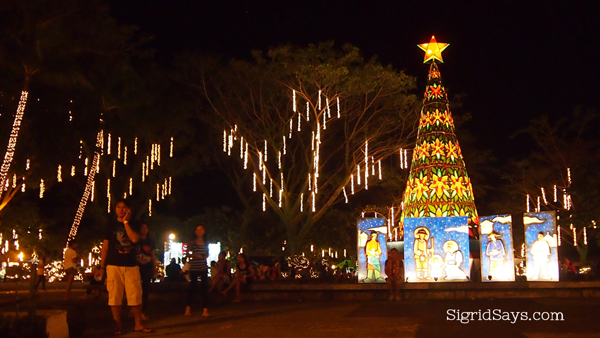 Silay public plaza Christmas