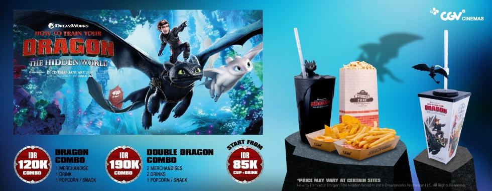 #CGV - Promo Merchandise Eksklusif How To Train Your Dragon 3 Menantimu !