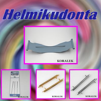Helmikudonta tarvikkeet - helmikudontakehys, neulat, nauhanpää edullisesti