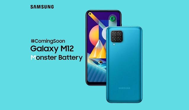Samsung Galaxy M12 Segera RIlis Untuk Pasar Indonesia