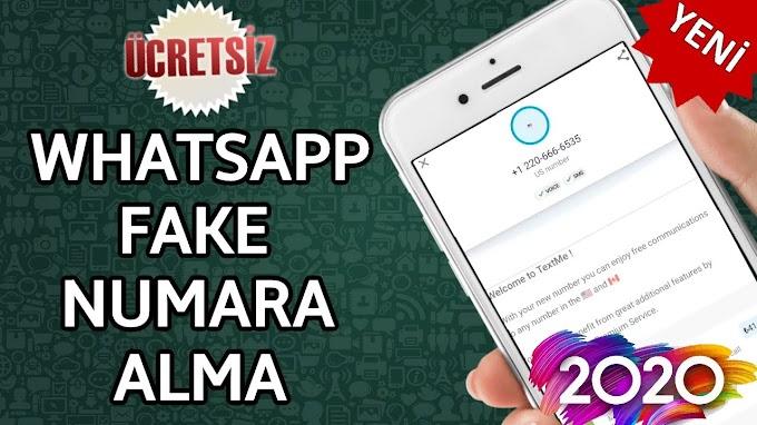 Fake Numara İle WhatsApp Nasıl Açılır?