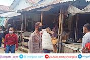 Antisipasi Gangguan Kamtibmas pada Bulan Suci Ramadan, Polsek Alla Patroli Dialogis di Pasar Sudu