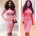 Which looks Better? Actress Chika Ike rocks Dress she wore in 2013