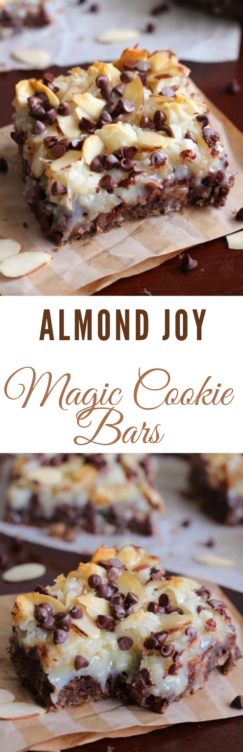 Almond Joy Magic Cookie Bars #cookie #bars