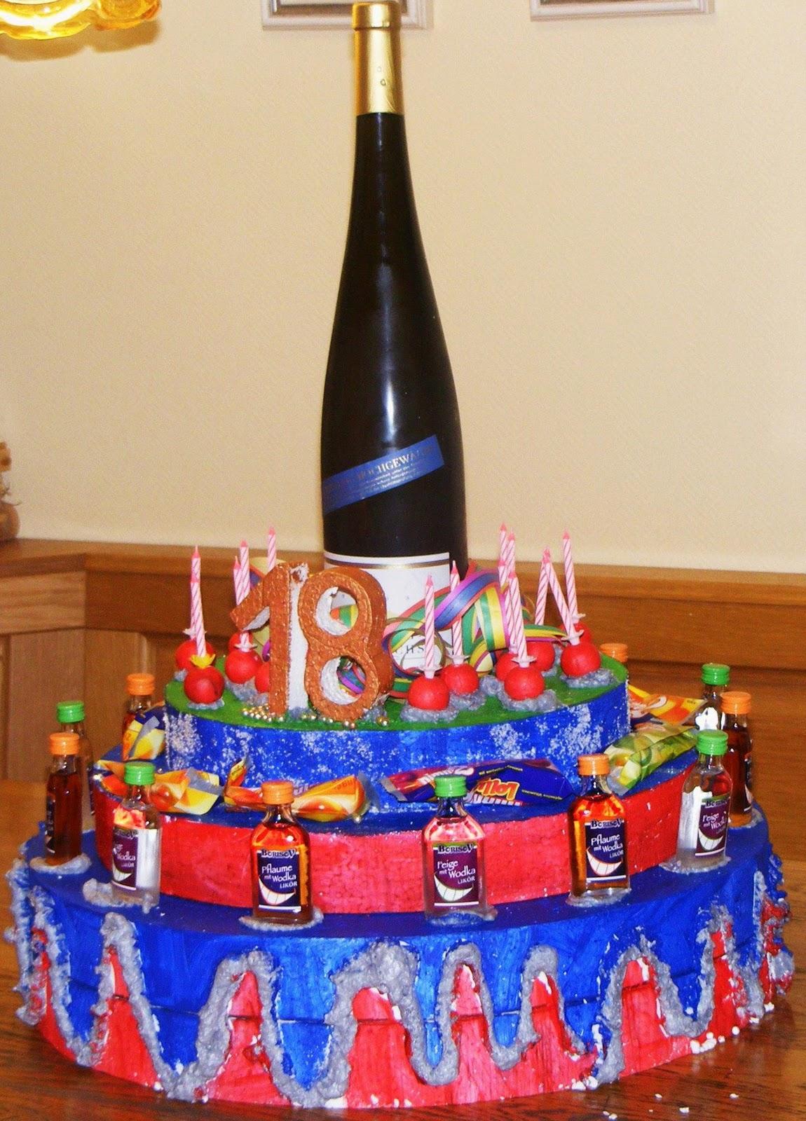 Geschenkfinder Torte zum Trinken Das etwas andere Geschenk zum Geburtstag