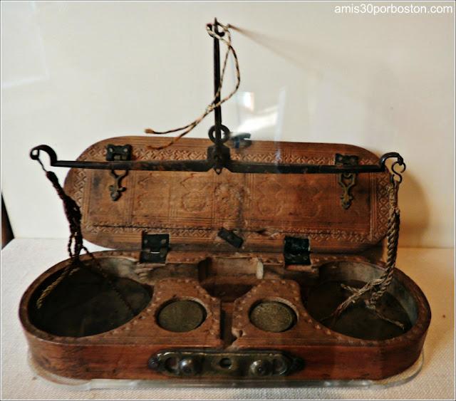 Museo Concord: Báscula de Dinero Inglesa