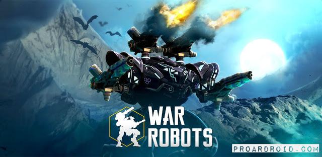 لعبة War Robots Apk v5.6.0 مهكرة كاملة للأندرويد (اخر اصدار) logo