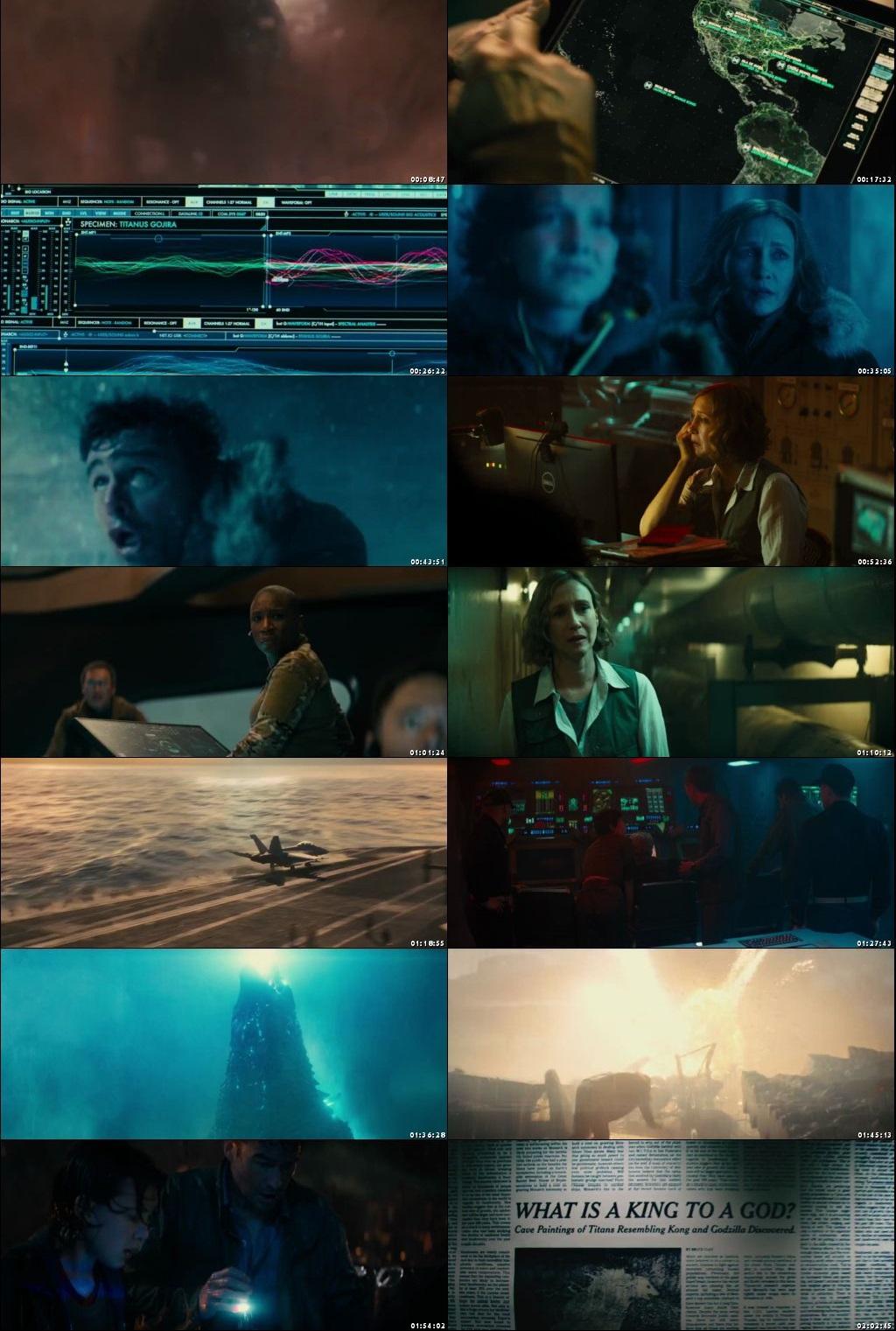 Screen Shot Of Godzilla: King of the Monsters 2019 In Hindi English Dual Audio Bluray