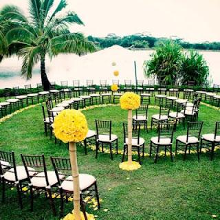 spiral seating wedding layout
