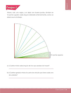 Apoyo Primaria Desafíos Matemáticos 4to. Grado Bloque II Lección 39 Pequeños giros