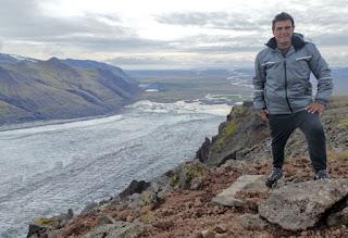 Parque Nacional Skaftafell. Mirador de Gláma sobre el glaciar Skaftafellsjökull