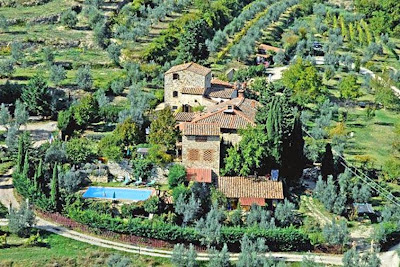 A good place to stay in Tuscany in the cool Chianti hills