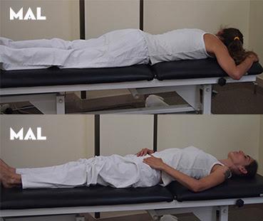 Ergonomía e higiene postural doméstica. Fisioterapia Dormir, tumbarse, acostarse.
