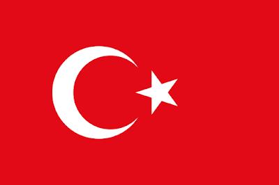 Logo Gambar Bendera Negara Turki PNG JPG ukuran 400 px