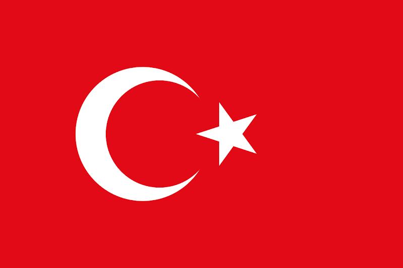 Logo Gambar Bendera Negara Turki PNG JPG ukuran 800 px
