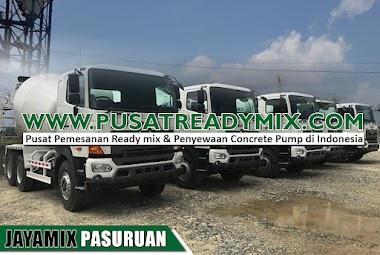 Harga Beton Jayamix Pasuruan Per M3 & Per Mobil Molen 2021
