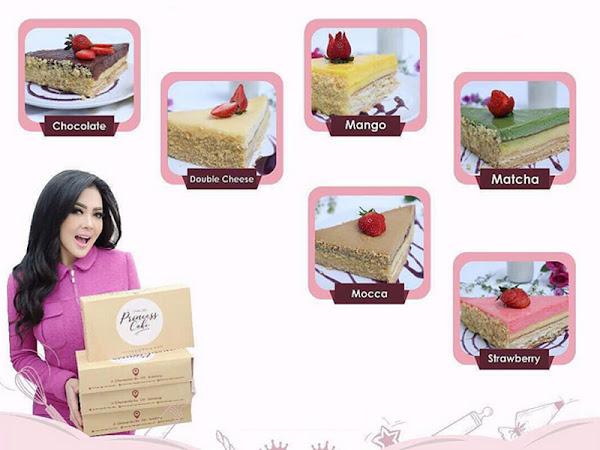 Harga dan varian rasa Bandung Princess Cake