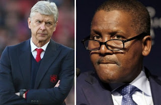 "Aliko Dangote - ""If I Buy Arsenal, The First I Will Do Is To Sack Wenger"""