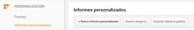 Crear informe personalizado