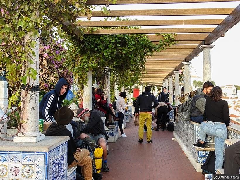Detalhe do Miradouro de Santa Luzia - o que  fazer em Lisboa