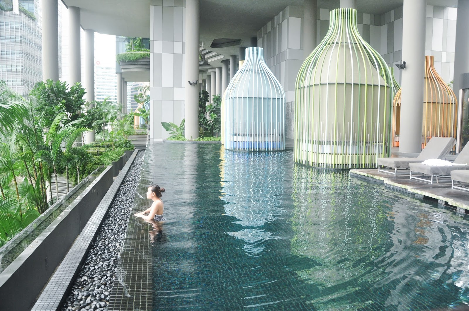 Travel staycation 2d1n at parkroyal on pickering - Park royal pickering swimming pool ...