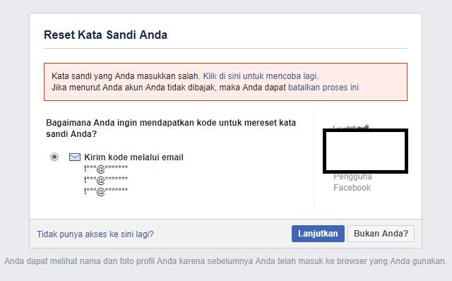 Cara Membuka Akun Facebook di Hack Orang Lain