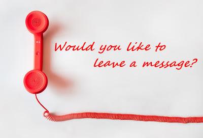 Dimensi Bahasa Inggris | Simple Telephone Message