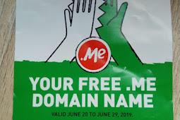 Cara Mendapatkan Domain .me Gratis Tanpa Email Edu (Dari Godaddy)