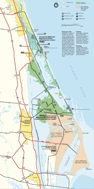 Canaveral National Seashore Playalinda Beach Backcountry Camping Areas