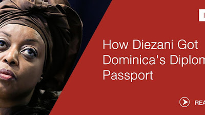 image result for diezani alison-madueke dominica passport and citizenship