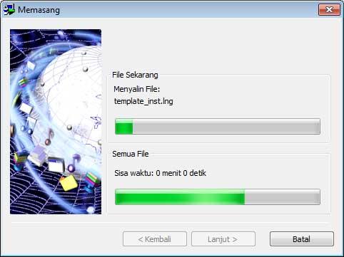 proses install idm