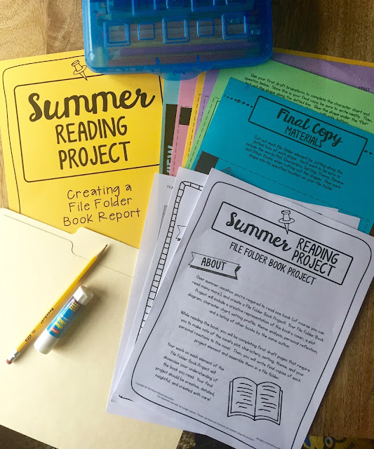 Keep students reading and learning all summer long with this creative summer reading project!