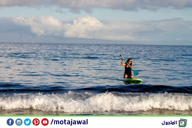 الرياضات المائية في مدينة جربة تونس