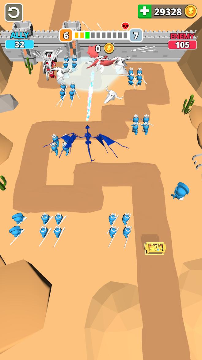 Tiny Battle Hileli Mod APK