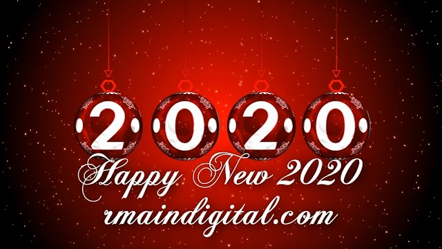 Intro Templates Happy New Year 2020 Blender, Sony Vegas, After Effects, Cinema 4D...
