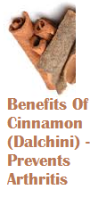 Benefits Of Cinnamon (Dalchini) -  Prevents Arthritis