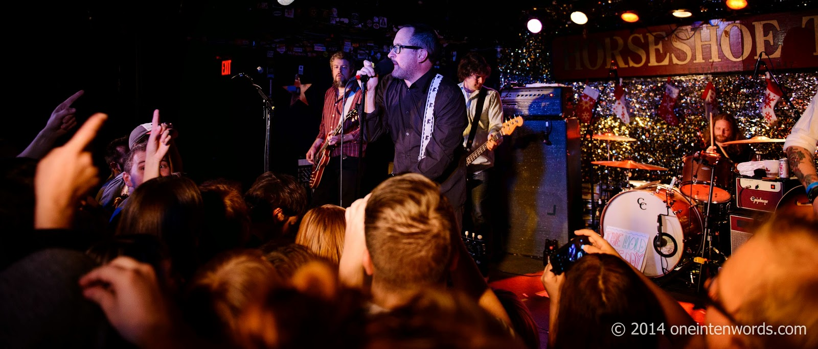 The Hold Steady at The Horseshoe Tavern December 13, 2014 Photo by John at One In Ten Words oneintenwords.com toronto indie alternative music blog concert photography pictures