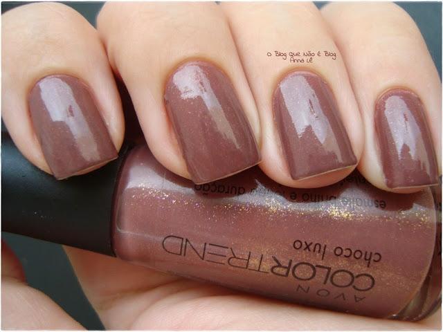 Esmalte Nailpolish Avon Color Trend Marrom