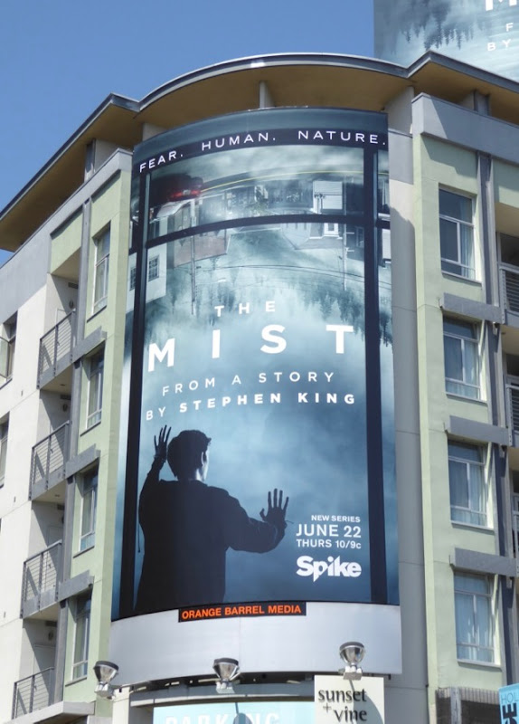 The Mist series launch billboard