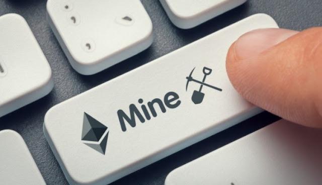Ilustrasi Gambar Mining Ethereum (ETH)