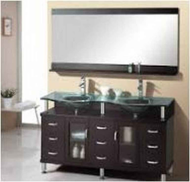 Wood Bathroom Vanities Miami BV B21a