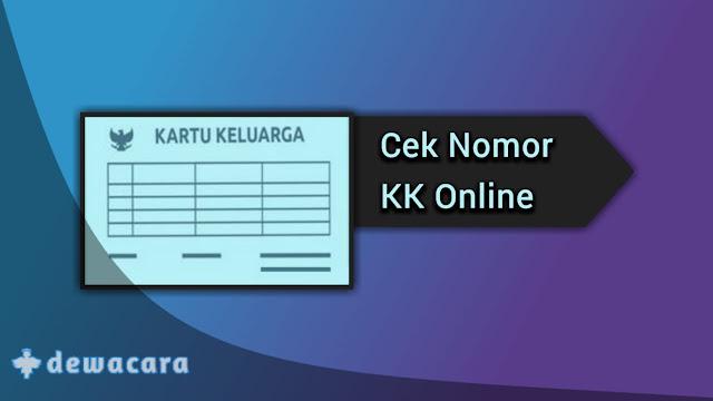 cek kartu keluarga online