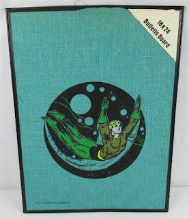 Aquaman bulletin board from 1979