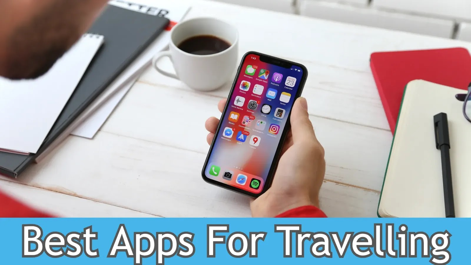 Top 10 Best Apps for Travelling
