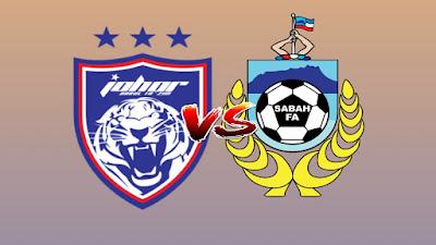 Live Streaming JDT II vs Sabah Liga Premier 5.7.2019